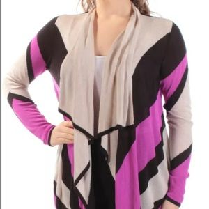 New Inc Womens Long Sleeve Cardigan